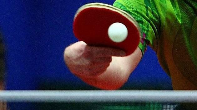 Stolní tenis ilustrační foto