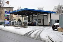 Čerpací stanice F9 v Rakovníku. Ilustrační foto