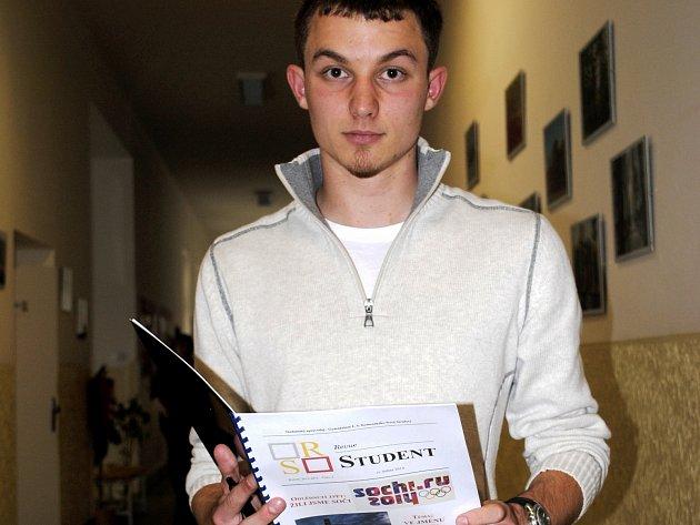 Jakub Černý, student