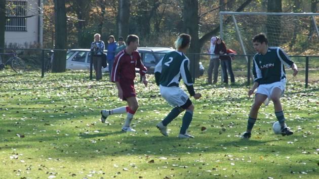 Foto z utkání Kněževes B - Lišany