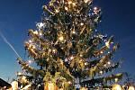 Rozsvícení vánočního stromu v Rakovníku