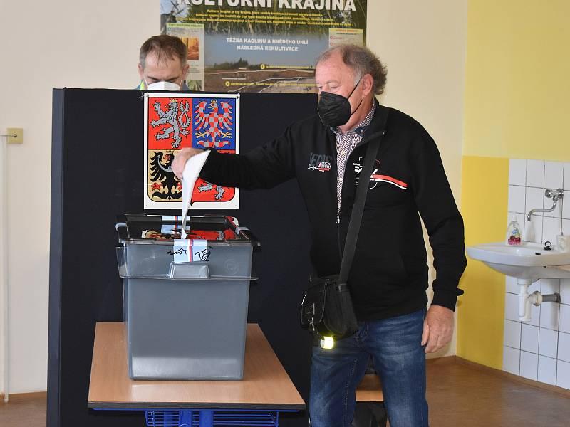 Parlamentní volby ve Střední zemědělské škole v Rakovníku.