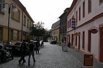 Trojanova ulice v Rakovníku.