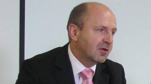 Ředitel rakovnické nemocnice Jaromír Bureš