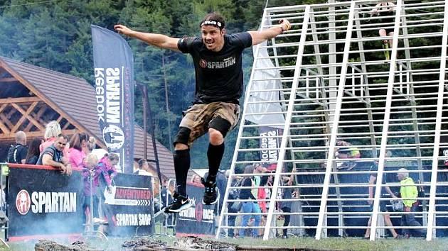 Jan Paleček na Spartan Race.