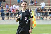 Milan Vyhnanovský se dostal na listinu ligových rozhodčích.