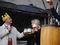 Slavnosti piva Krušovice.