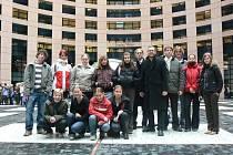 Návštěva studentů v europarlamentu