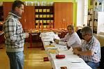 Páteční volby na 1. Základní škole v Rakovníku.