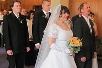 Svatba Magdaleny a Františka