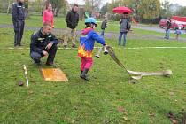 Děti bojují o titul železného hasiče