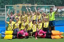 Starší žákyně Rakovníka porazily v posledním zápase Bohemians 4:1 a staly se českými šampionkami