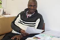 Edwin Wallace student zemědělské univerzity v Praze Suchdole
