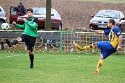 Fotbalisté Hředel ve 12. kole okresního přeboru porazili Olešnou 4:1.