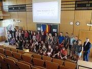 Do Masarykovy obchodní akademie přijeli žáci a učitelé z přátelské školy v bavorském Hilpoltsteinu.