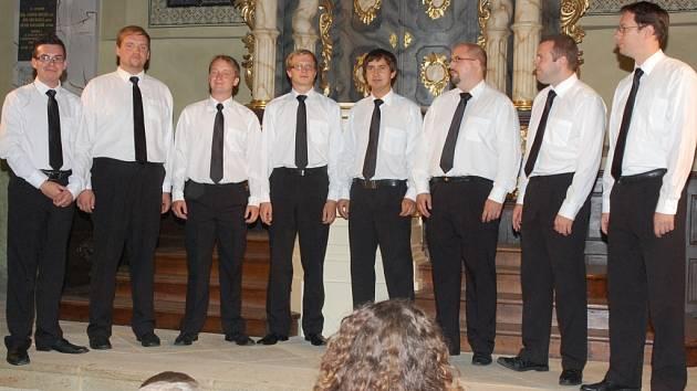 Koncert Gentlemens Singers v Rabasově galerii