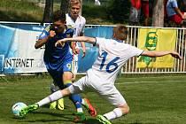 Island porazil Ukrajinu po penaltách, v základní hrací době skončil duel 1:1.