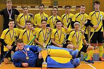 Po zlaté partě mužů přibyla do rakovnické pozemkářské výkladní skříně další zlatá medaile a dorostenecký titul Mistrů České republiky v hale 2019.