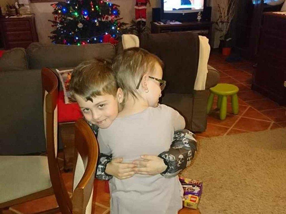 Předávání vánočních dárků