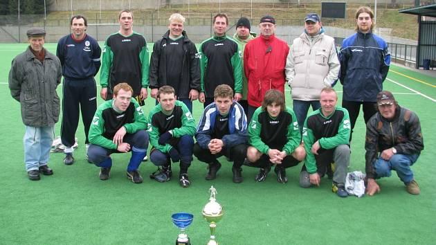 Vítězný tým Olympie Rakovník