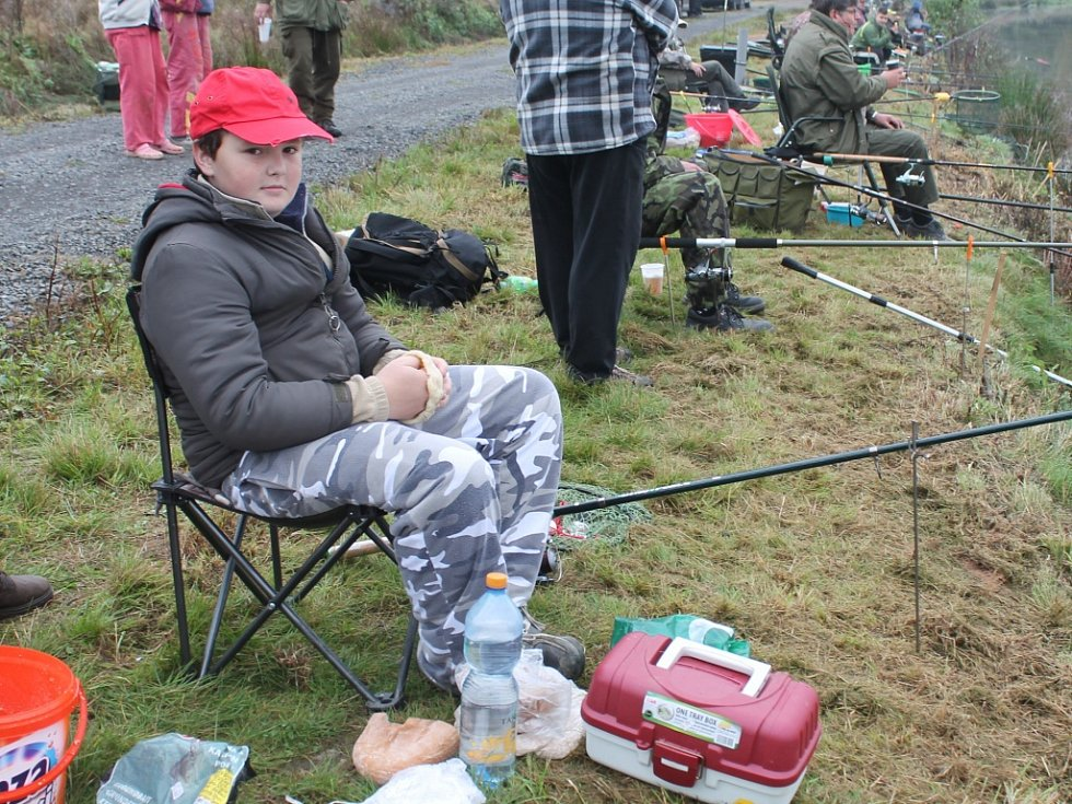 Rybářské závody v Šanově