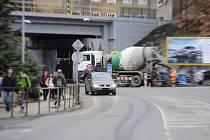 Oprava viaduktu v Nádražní ulici v Rakovníku