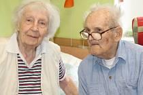 František Krejčí s ženou Irenou