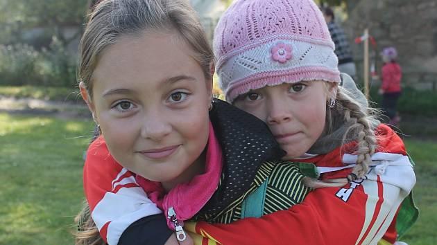 Soutěž mladých hasičů v obci Přílepy