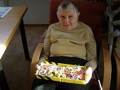 Už třináct let žije Marie Zikmundová v Domově seniorů na Zátiší.