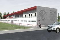 Takto by mohl vypadat Městský areál Rakovník v budoucnu.