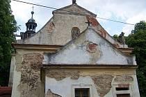 Oprava kostela v Oráčově