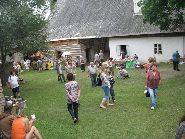Šafářův dvoreček 2008
