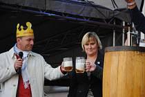 Slavnosti piva Krušovice. Archivní foto.
