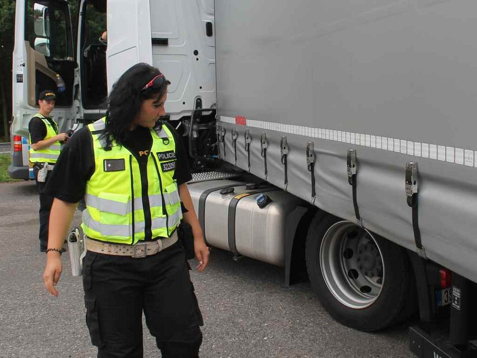 Dopravně-bezpečnostní akce policie
