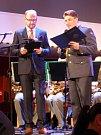 Ústřední hudba AČR zahrála v Rakovníku k Mezinárodnímu dní rodin.