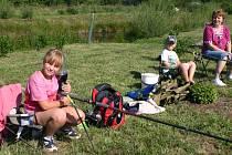Rybářské závody pro děti v Řeřichách