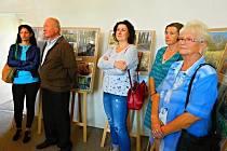 Ze zahájení výstavy Slabecký park ve fotografii.