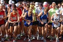 Šestina maratónců v horkém Kladně vzdala