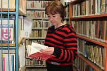 Knihovnice Helena Kuklíková v Kněževsi