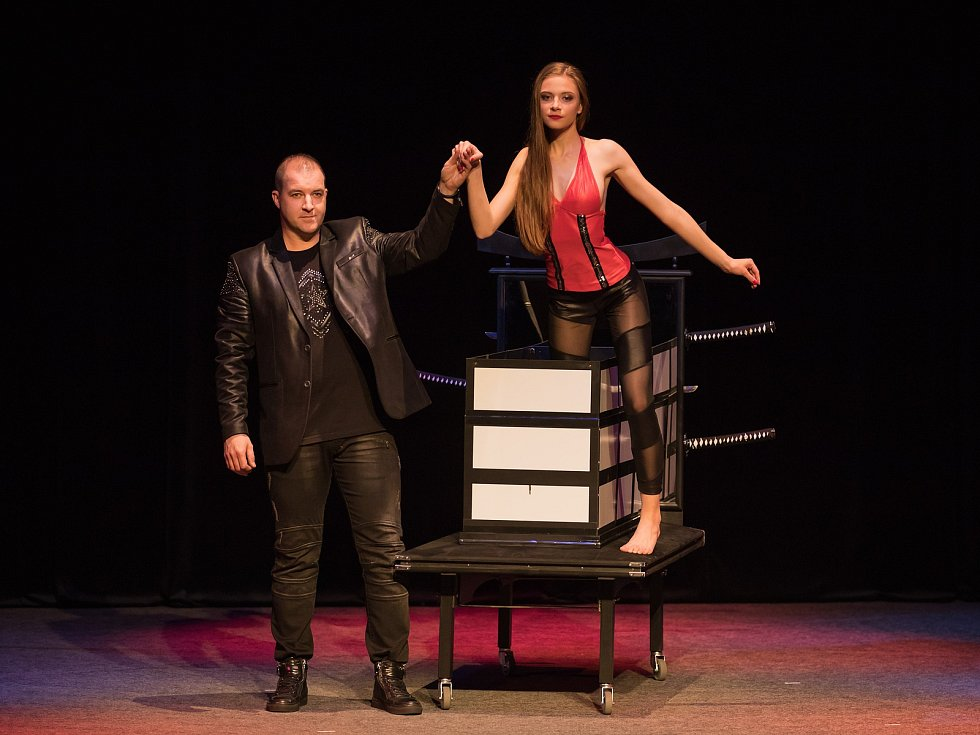 Show kouzelníka a iluzionisty Jana Vaidiše.