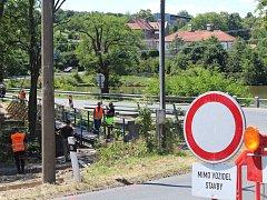 Všesulovský most bude uzavřen do poloviny prosince letošního roku.