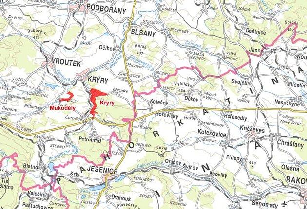 Stát začne vykupovat pozemky pro novou přehradu u Kryr. Zatopí pole i chmelnice