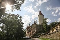 Křivoklát se ponořil do doby krále Václava IV.