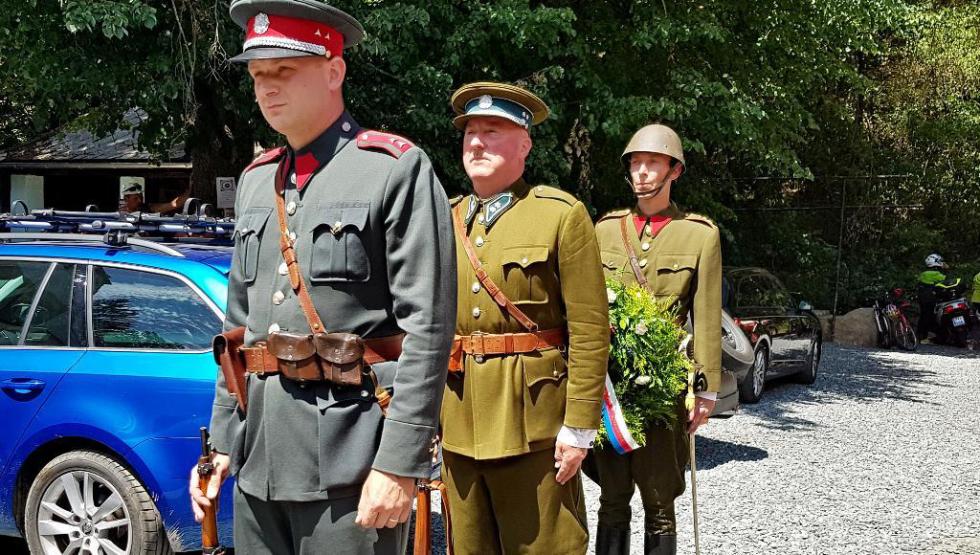 U Rozvědčíka připomněli odkaz legionáře a bojovníka proti fašismu.