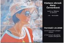 Výstava Hany Červenkové ve Skřivani