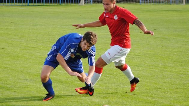 Nové Strašecí - Tuchlovice, KP - podzim 2016. V penaltovém rozstřelu zvítězili hosté.