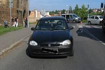 Řidič srazil chodce na přechodu u Vysoké brány