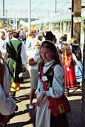 Dívka v kašubském kroji