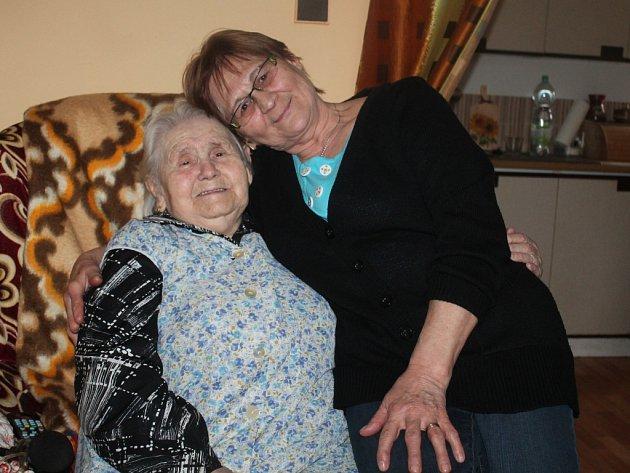 Jarmila Librová a Anna Mikšovicová