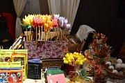 Muzeum T.G. Masaryka v Lánech pořádalo v neděli 14. dubna 2019 tradiční velikonoční prodejní výstavu.
